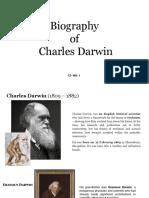 Group No. 1 - Biography of Charles Darwin