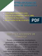 Planimetria Aplicada en Accidente de Transito