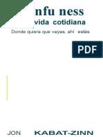 349643923 Jon Kabat Zinn Mindfulness en La Vida Cotidiana PDF