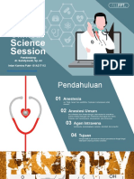PPT CSS Intravenous Anesthetic