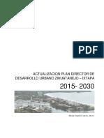 APDDU Zihuatanejo Ixtapa 2015-2030