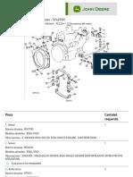 Lista de Piezas - Montajes de Motor - ST429191