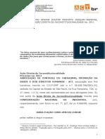 Petição - Habilitação Da ACT Como Amicus Curiae-ADIn 3311