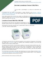 Desmontagem e Testes Das Lavadoras Consul CWL75A e CWL10B