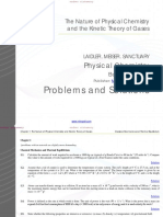 Problems and Solutions Physical Chemistry by LAIDLER