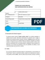 PLAN DE NEGOCIO Por Mag. Mauro López Arellán