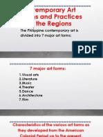 7 Major Art Forms & Visual Arts
