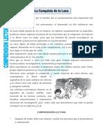 Ficha La Conquista de La Luna Para Cuarto de Primaria