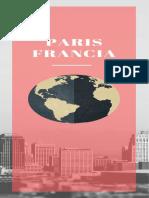 Itinerario París, guia de viaje