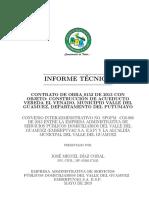 1. Informe Técnico Acueducto El Venado