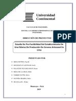 Acta de Cosntitucion y Registro Stakeholders- Estudio de Prefact.