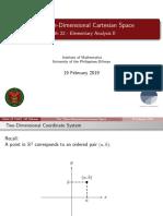 The Three-Dimensional Cartesian Space