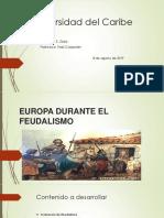 Europa Durante El Feudalismo