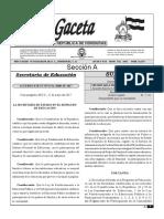 Reglamento de Las Asociaciones de Padres de Familia de Honduras