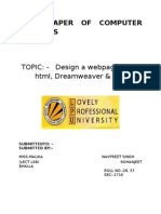 Term Paper of Computer Graphics