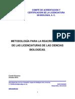 Caceb Anpromar Metodologia Reacreditacion 2013