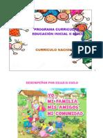 Programa Curricular de Educacion Inicial II Ciclo 2019