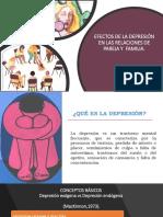 Efectos de La Depresión en Las Relaciones de Pareja y de la familia