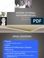 History of Spine Instrumentation