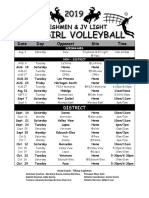 porter volleyball 2019 schedule freshmen and jv light final