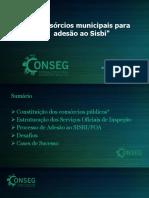 Adesão Ao Sisbi Por Consorcios Publicos Por Ronaldo Gil Pereira