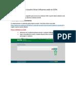 POP_Cadastro Usuário Sinan Influenza Web No SCPA