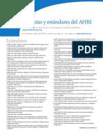 Estandares AHRI