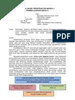 Tugas Akhir Terstruktur Modul 1 - Mauluddin Rahman Syah, S.pd