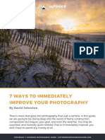 7 ways to immediately improve your photography
