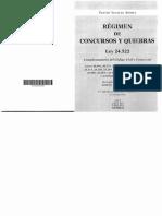Regimen de Concursos y Quiebras Roulion (Edicion 17º)