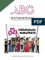 """Manual """"ABC de La Trata de Personas"""""""