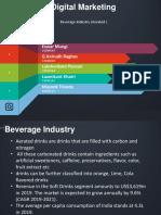 Softdrinks Industry