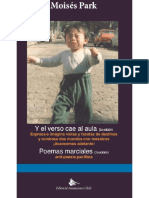 Y el verso cae al aula (3a edición) & Poemas marciales (1a edición)