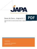 Tarea 1-  Base de Datos