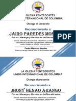Diplomas Don Mauro