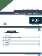 HR Transformation Proposal Template