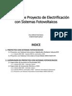 Supervision de Proyecto de Electrificacion Con Sistemas Fotovoltaicos