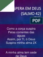 Espera Em Deus (Salmo 42)