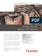 Outotec Oktop Agitator Unit Upgrade