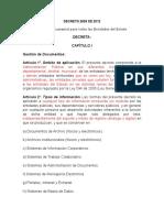 Decreto 2609 de 2012 - Comentado