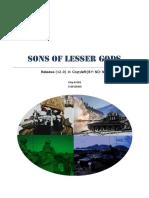 Sons of Lesser Gods (v1.0)