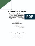 Von Der Luft (Ed.) - Schopenhauer - New Essays in Honor of His 200th Birthday - Copy