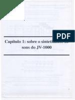 Manual Roland JV-1000 Português