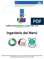 2. Ingenieria Del Menu
