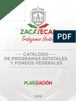 Catálogo de Programas Estatales 2019 c Vobo de Imagen
