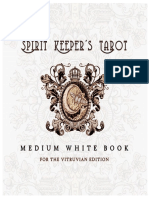 Spirit Keeper's Tarot (Vitruvian Edition) Medium White Book [Digital Version 2019]