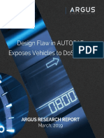 Design flaw in AUTOSAR exposes vehicles to DoS attack