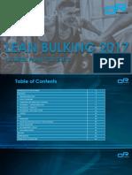 Dr Physique Lean Bulking Plan 2017