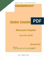 Manual Preenchimento Meio Ambiente Esp 2010