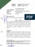 PJ evaluará denuncia contra Chávarry por encubrimiento real